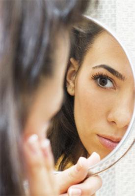 Отражение в зеркале - красота и диагностика